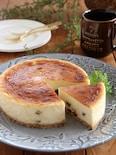 ラムレーズンのニューヨークチーズケーキ