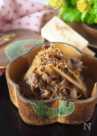 『ご飯がすすむ!しっとり柔らか牛肉の韓国風しぐれ煮#作り置き』