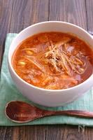 牛こまでお手軽簡単!ユッケジャン風スープ