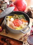 和と洋を味わうヘルシー鍋!和風ミネストローネ