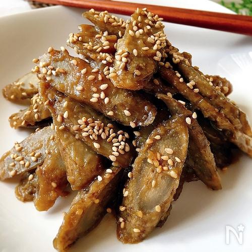 [作り置き]こぼうの甘味噌炒め