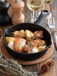 焼くだけ簡単!チキンと野菜のオーブン焼き。パーティーに♪