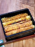竹輪天丼といえどもボリュームあり(天丼つゆの作り方も)