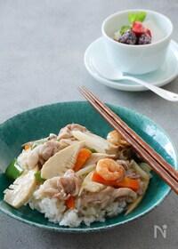 『10分で作る野菜たっぷりの中華丼』