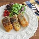 青魚で健康生活◎フライパンで揚げ焼き☆さばの香草パン粉焼き