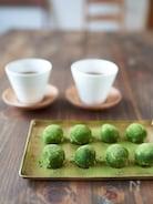 【材料3つ、レンジでできる】抹茶トリュフ