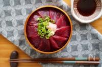 煮切り醤油と酢飯がポイント「我が家の鉄火丼」