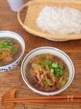 豚肉と白ねぎの肉汁うどん(糖質0麺も可!)