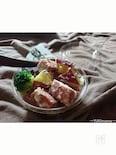 〜お弁当に〜さつま芋とスパムのデリ風サラダ(作りおき)
