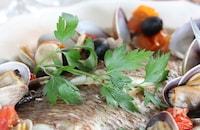 休日やホームパーティに!真鯛のフィレで簡単アクアパッツァ