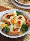 ホワイトソースなし!子どもも喜ぶ卵とパンの濃厚チーズグラタン
