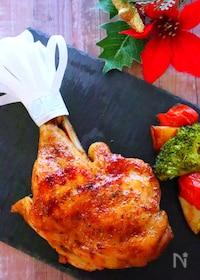 『【クリスマス料理】フライパンで簡単!ローストチキンの作り方』