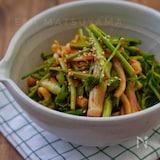 イカ刺し使用で簡単*イカと芹の酢コチュジャン和え*韓国料理