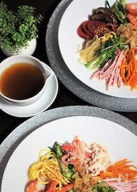 『寿司酢で簡単冷やし中華のタレ』