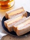 スクランブルエッグのタマゴサンド