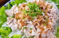 ツルンと劇的お肉柔らか!豚しゃぶの和風胡麻サラダ