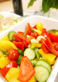 『おつまみにも!彩り野菜のピクルス』