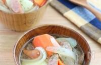 食べるスープ♪ゴロゴロ野菜のポトフ風みそ汁