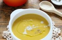 濃厚!ほっこり甘い!かぼちゃの豆乳スープ