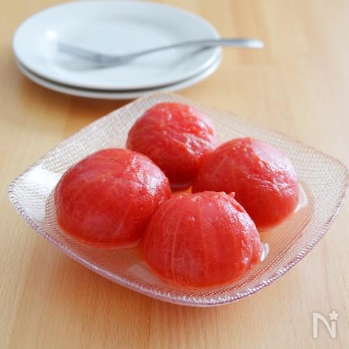 トマトの砂糖漬け。まるでスイーツ!トマトの大量消費にも♪