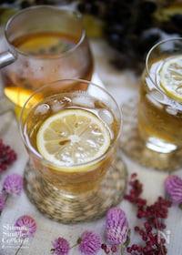 『お洒落♡お茶カクテル【梅酒美人茶】』