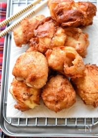 『【胸様レシピ】激うま過ぎる♡鶏皮+胸様のチーズ唐揚げ♡』