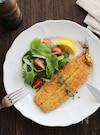 カレー粉と粉チーズが隠し味。秋刀魚のパン粉焼き。