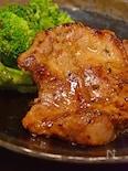 ポークステーキ(ガーリック味噌ペッパー)