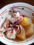 大根とヤリイカの煮物