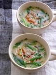 うどんスープで簡単!絶品!ヘルシー坦々風豆乳スープ