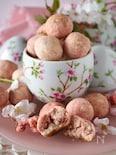 【混ぜて焼くだけ】ほどける口溶け*桜のサクほろクッキー
