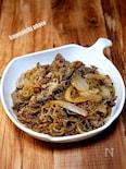 牛肉と糸コンのすき煮