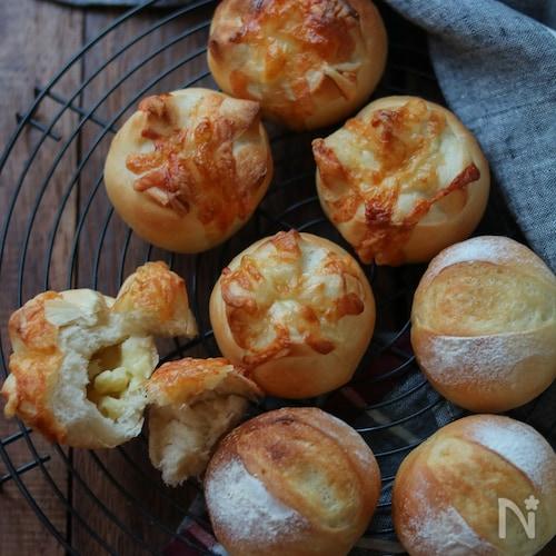チーズのプチパン。