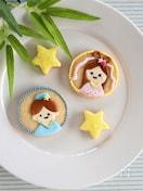 【七夕】織姫と彦星のアイシングクッキー