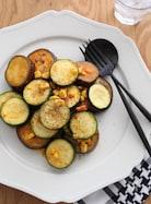 夏野菜のケチャップ炒め