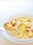 白菜と厚揚げの味噌グラタン