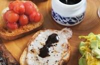 バルサミコ酢&3種のタルティーヌ