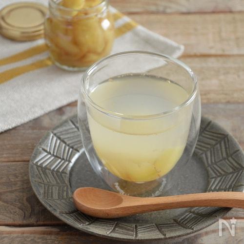 温活!自家製ホットジンジャー。生姜とはちみつを煮詰めて。