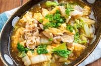【豚バラと白菜の中華風とろみ煮】ふわふわ卵♬︎とろ〜り温かい