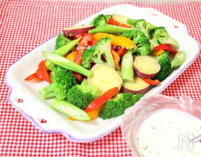 野菜 サラダ 温