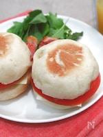 【ほっとき!もちもちパン】【フライパンで焼ける】イングリッシュマフィン