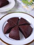 【米粉とココアのレンチンケーキ♪】レンジにおまかせ時短ケーキ