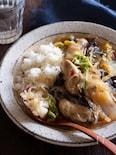牡蠣と春雨の煮込み