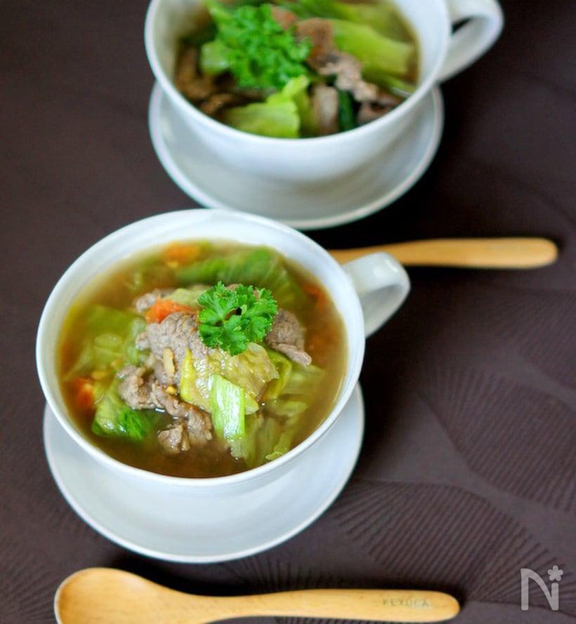 和洋中すべておまかせ!レタスのスープ人気レシピ15選