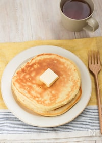 『砂糖不使用でほんのり甘い♪バナナパンケーキ(米粉)』