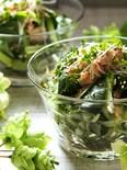 箸が止まらない美味しさ♥小松菜とワカメのツナサラダ
