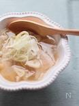 体ポカポカ♡ガーリックオニオンスープ