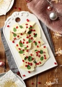 『ホワイトクリスマスのチョコレートバーク』