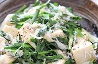 ヘルシー美味しい!お腹も大満足♡高野豆腐のねぎニラしらす炒め
