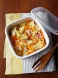 作り置きに!白菜とベーコンの炒めサラダ